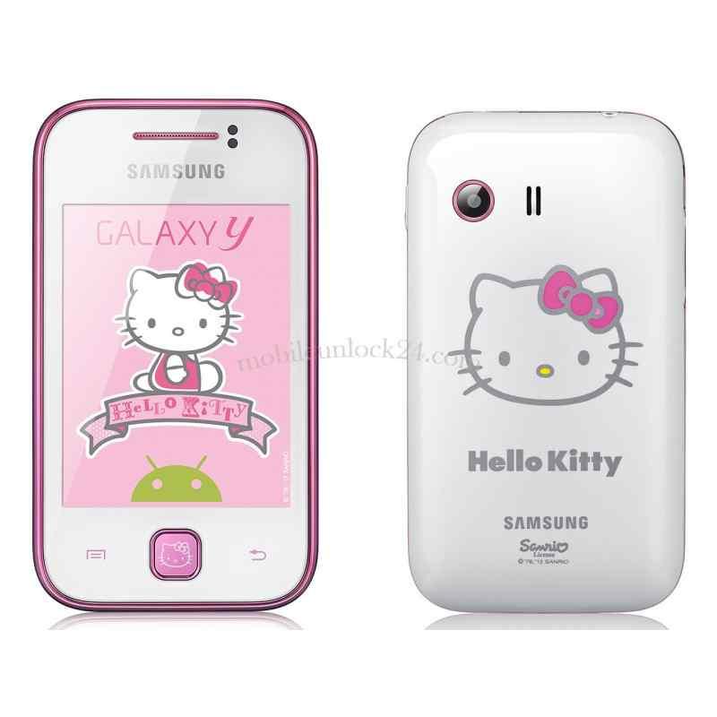How to unlock samsung Galaxy Y Hello Kitty GT-S5360 S5360 Hello