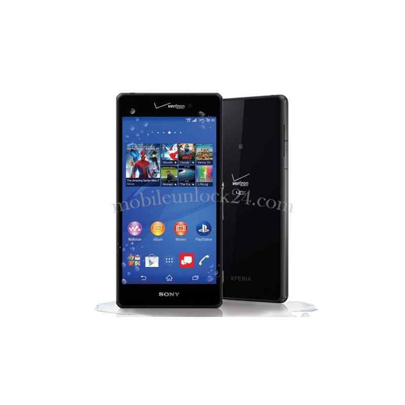 Xperia Z3v unlock Sony Xperia Z3v...