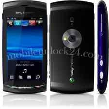 unlock Sony Ericsson Vivaz, Kurara, U5, U5i, U5a
