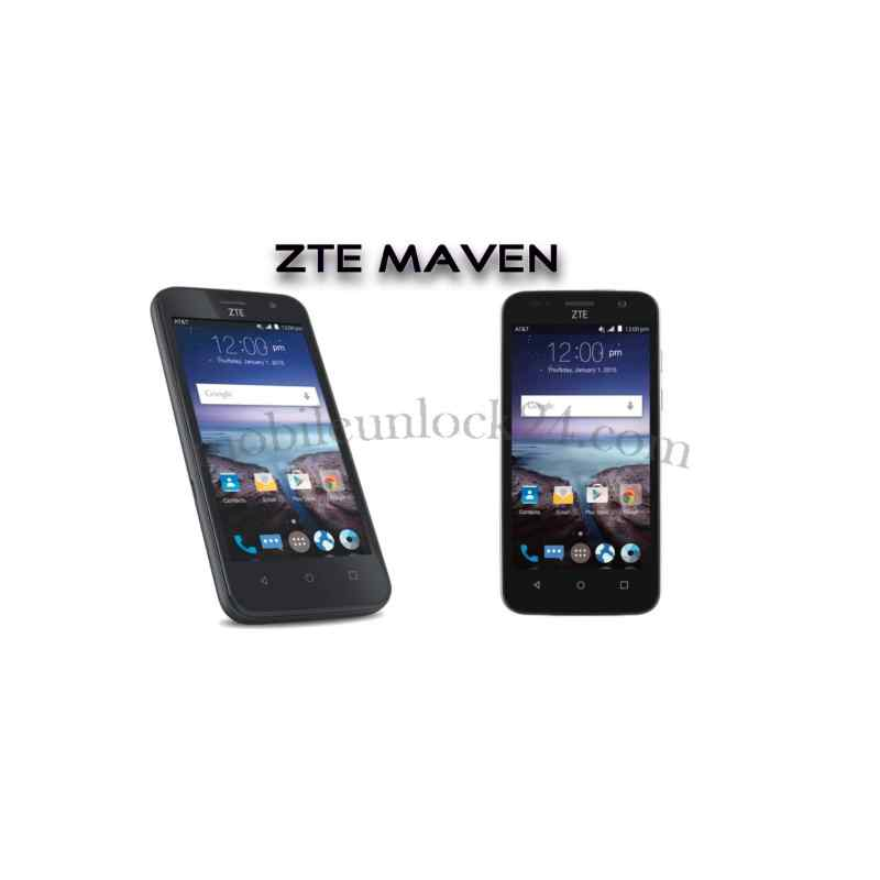 free zte maven unlock code all