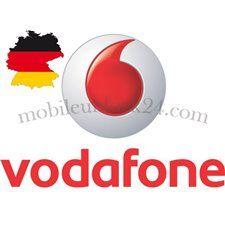 Постоянная разблокировка iPhone Vodafone Германия