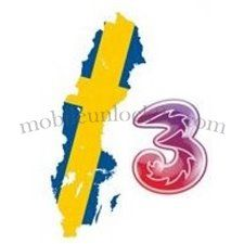 Permanently unlocking iPhone network 3 Hutchison Sweden - premium