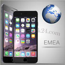 Разблокировка Постоянно разблокировать iPhone сети EMEA SERVICE - Premium