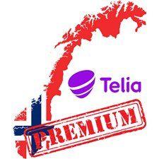 Постоянная разблокировка iPhone из сети Telia Норвегия - Premium