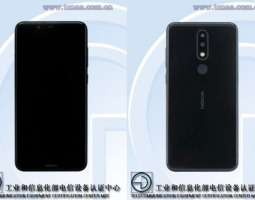 Photos of Nokia 5.1 Plus published in TENAA