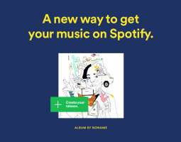 Indie artists now can upload their songs to Spotify