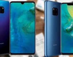 Huawei Mate 20 and Mate 20 Pro officially presented