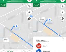 Google added reports about accidents and speed traps to Maps