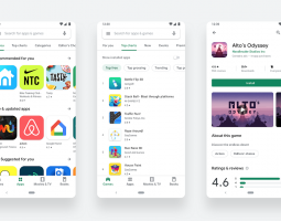 New design of Google Play Store available for all users