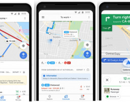 Google Maps with new additions for cyclists