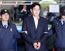 Lee Jae-yong sentenced to 2.5 years in prison for bribery
