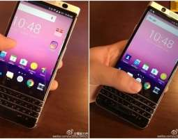 Blackberry Mercury with Android and physical keyboard