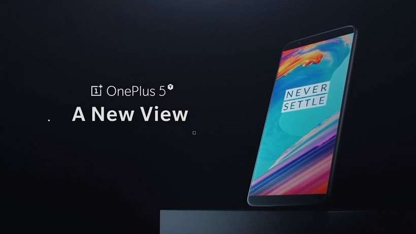 OnePlus 5T officially presented