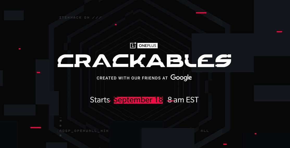 Google and OnePlus created challenge for experts in cracking codes