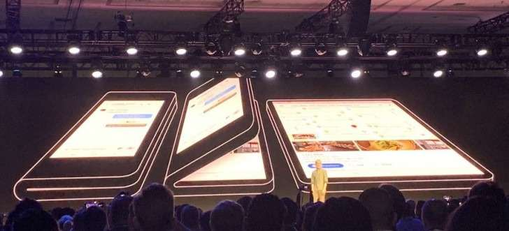 Samsung officially confirms - foldable smartphone comes to the market