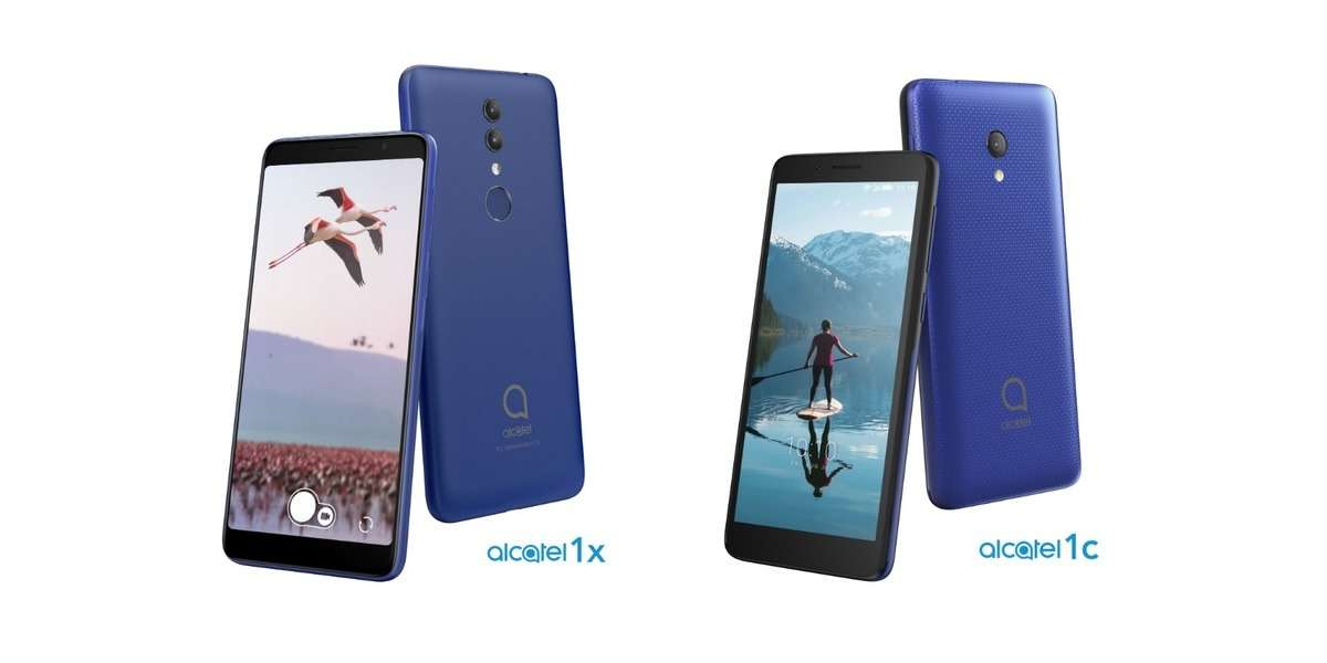 Alcatel officially presented two new phones
