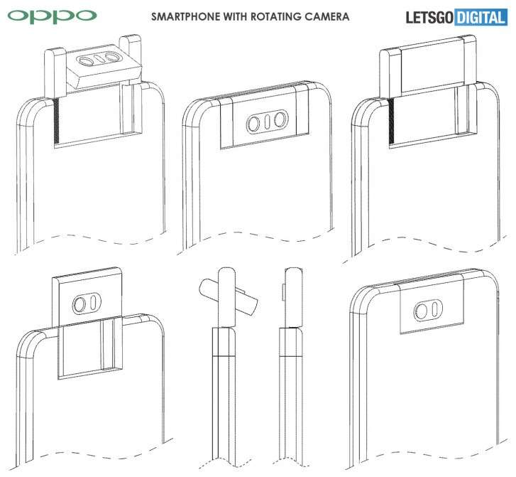 Oppo may release phone with rotating camera