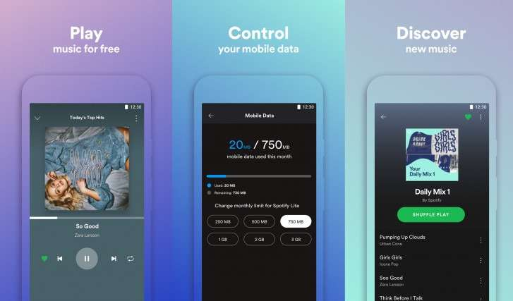 Spotify Lite available in Google Play Store, but not in all countries