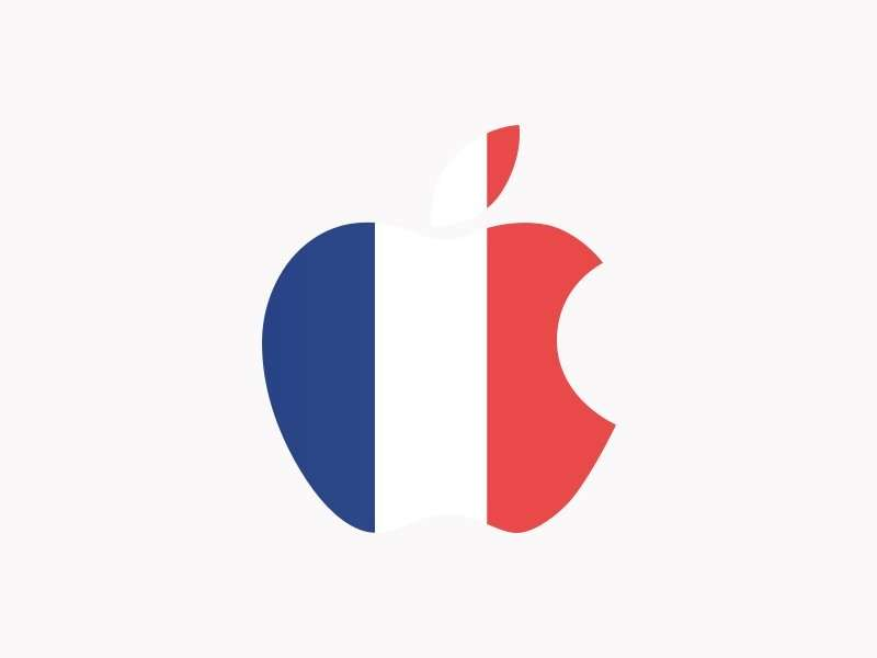 Apple has been fined 25 million euro by the French government