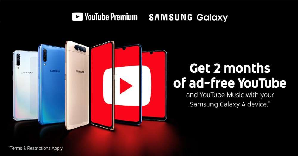 Owners of new Samsung's phones will receive temporary access to YouTube Premium