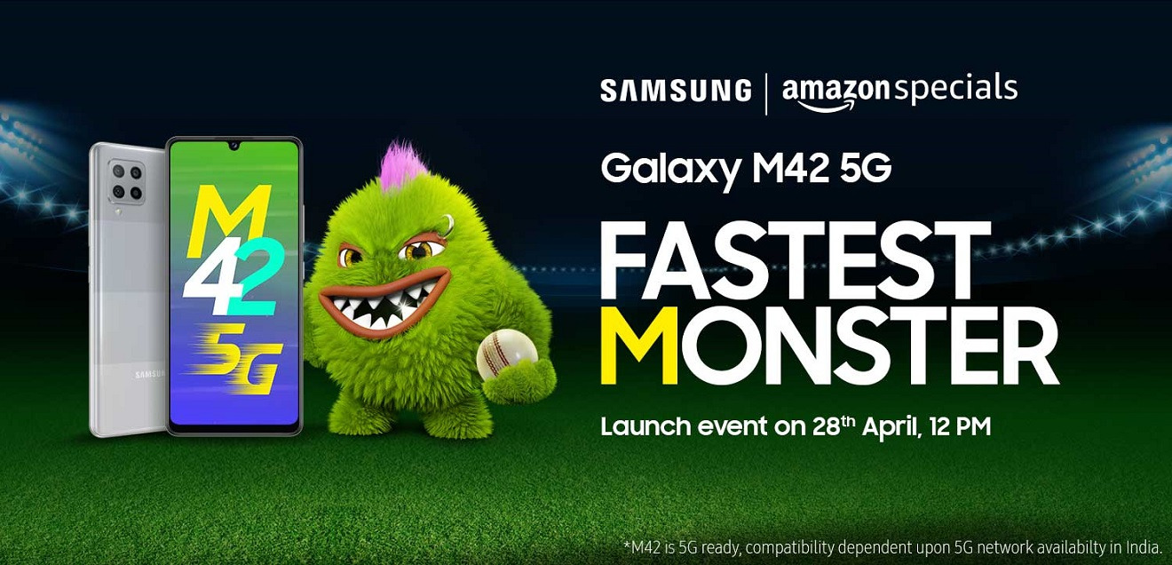 Samsung Galaxy M42 5G will be presented on 28th of April - we have the official confirmation of the manufacturer