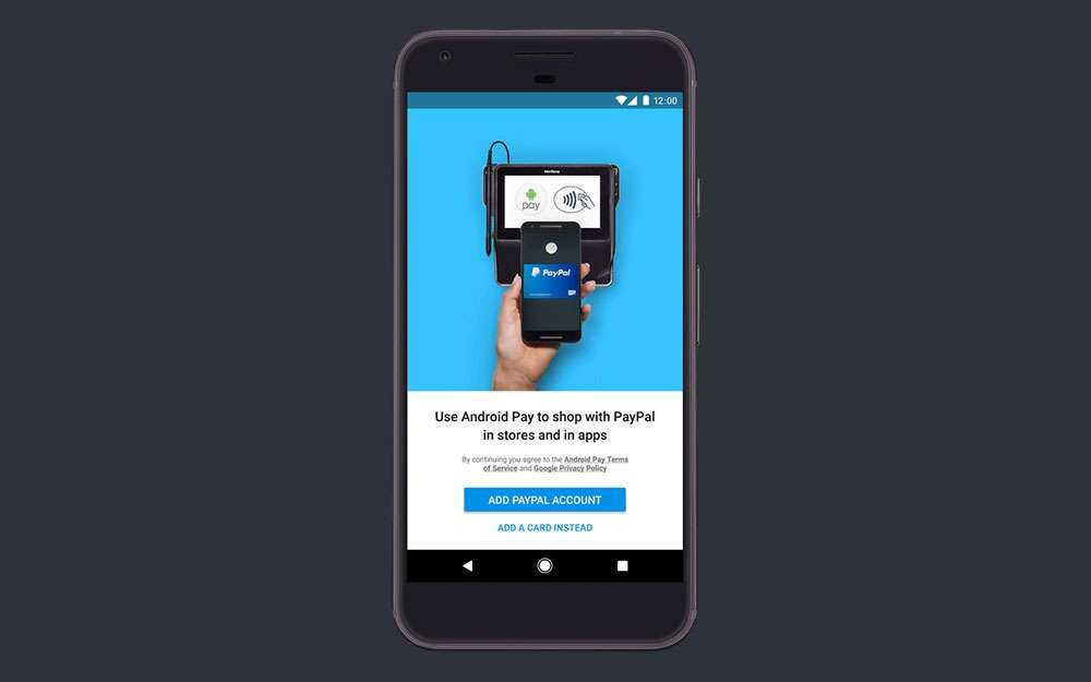 Google adds PayPal payment option in Android Pay