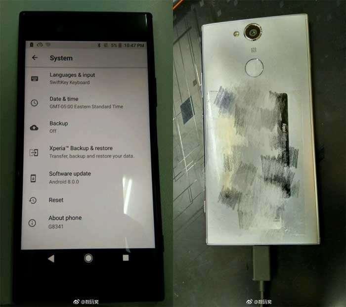 Sony Xperia XZ1 and XZ1 Compact on unofficial photos
