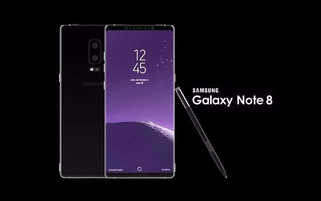 Samsung officially presented Galaxy Note 8
