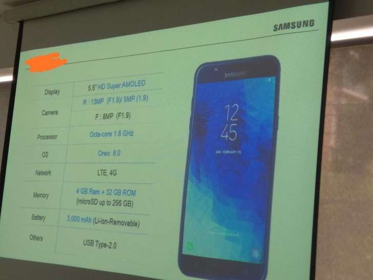 Specification of Samsung Galaxy J7 Duo appeared on the Internet
